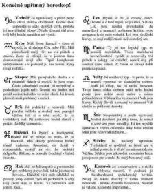 Pravdivý horoskop